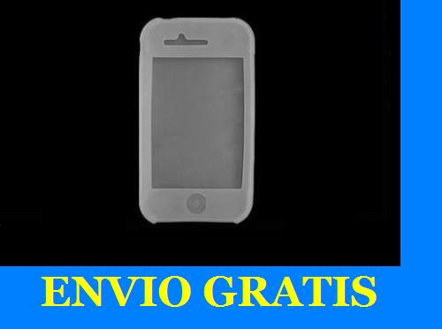 Funda silicona para iphone 3g 3gs blanca - Fundas iphone silicona ...